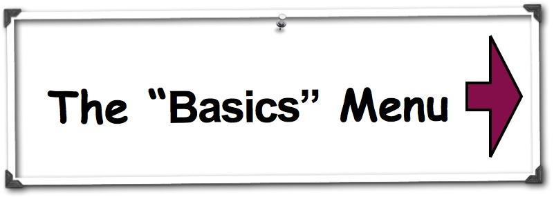 The Basics Menu
