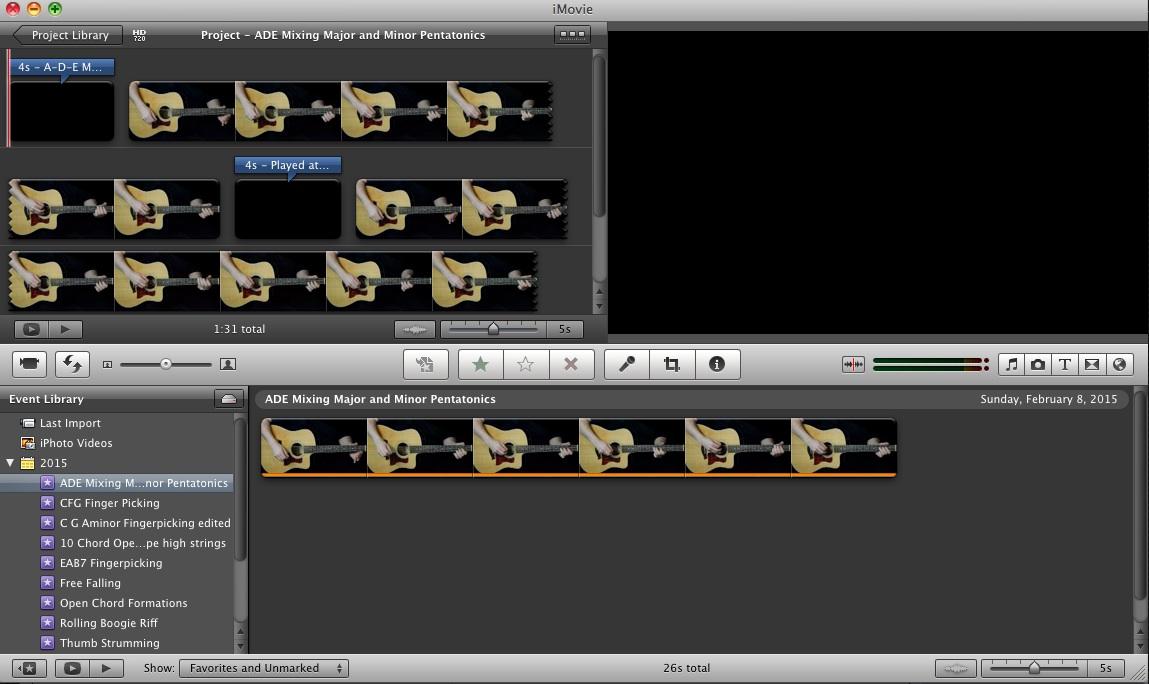 iMovie Grab JPEG